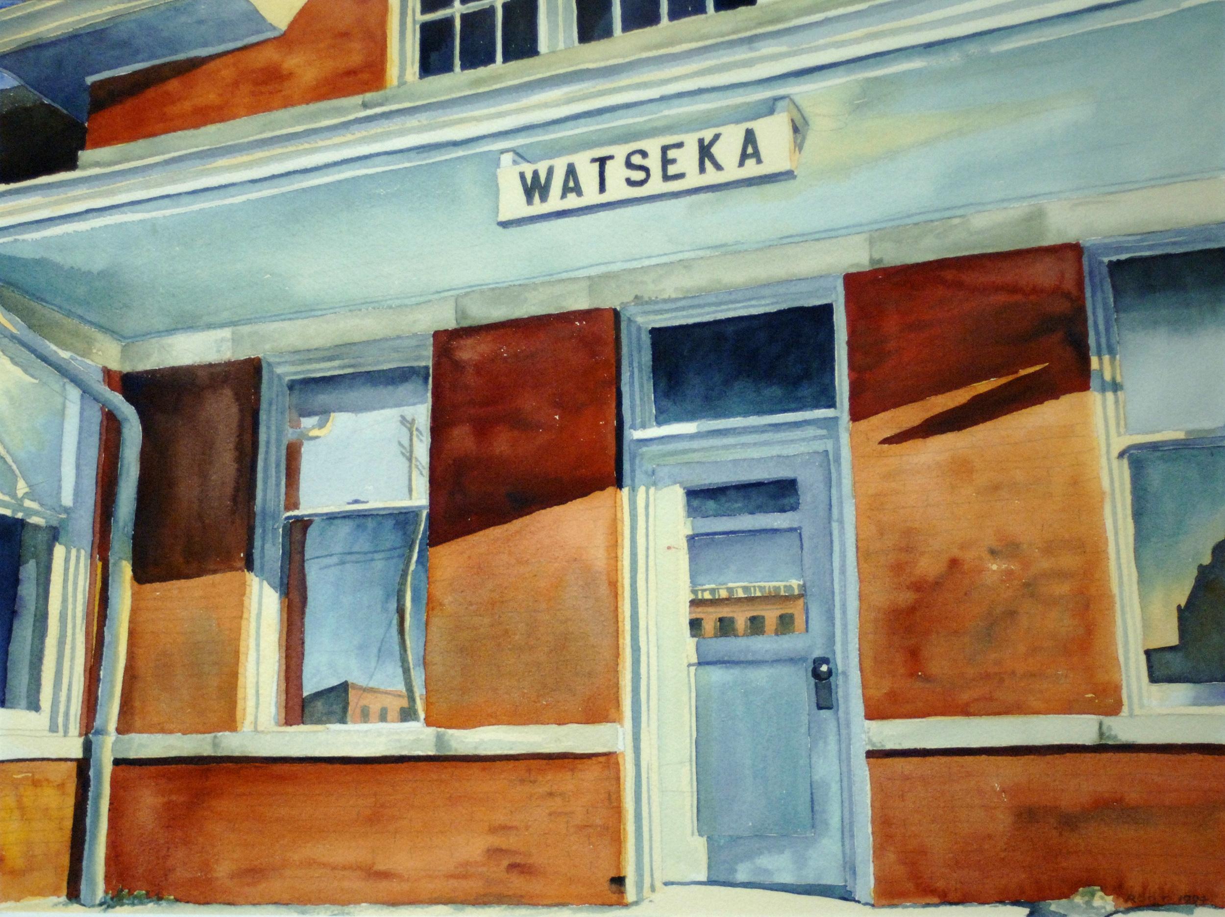 Watseka, IL Train Depot