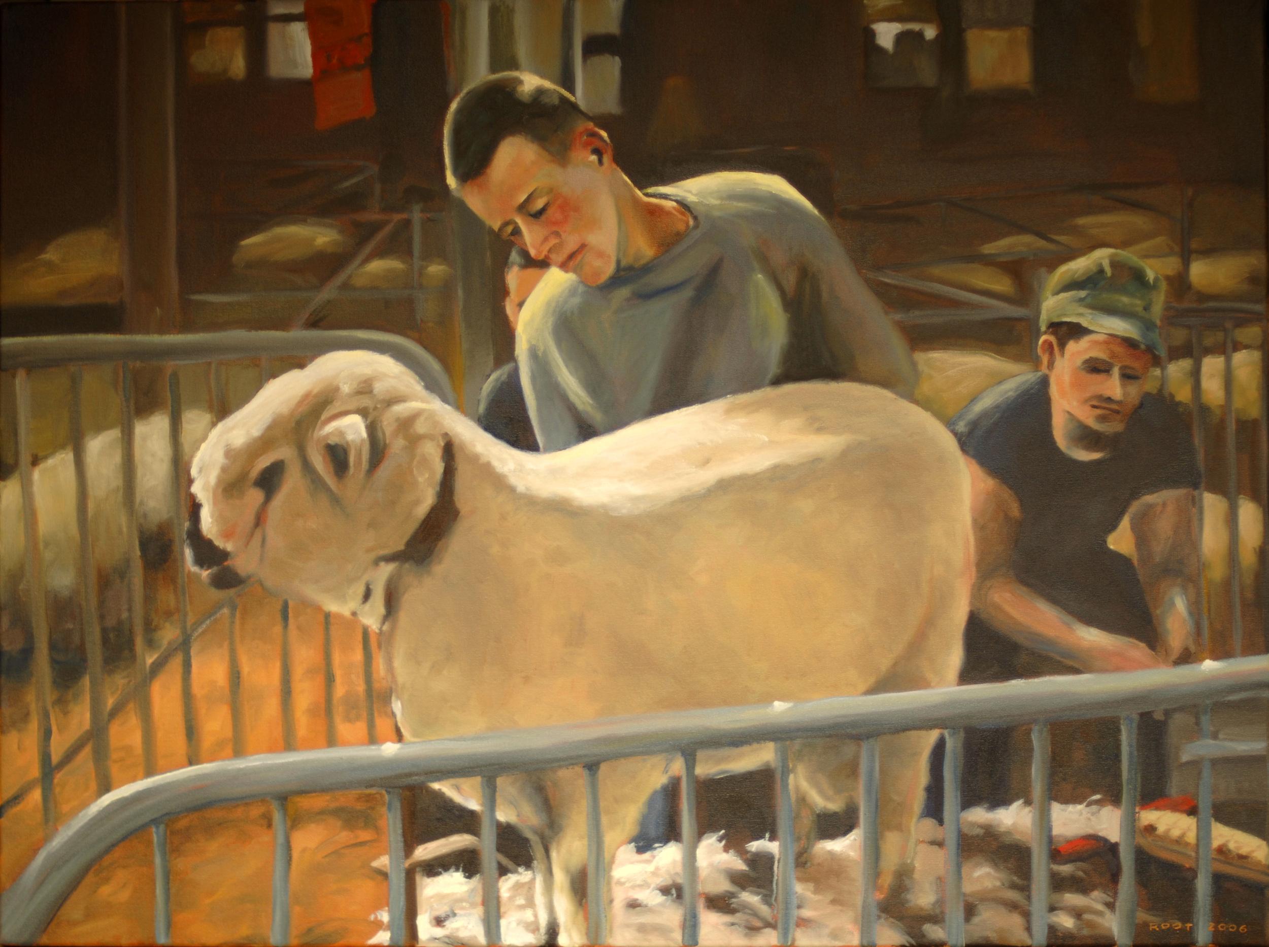 Boy and Sheep, 1962