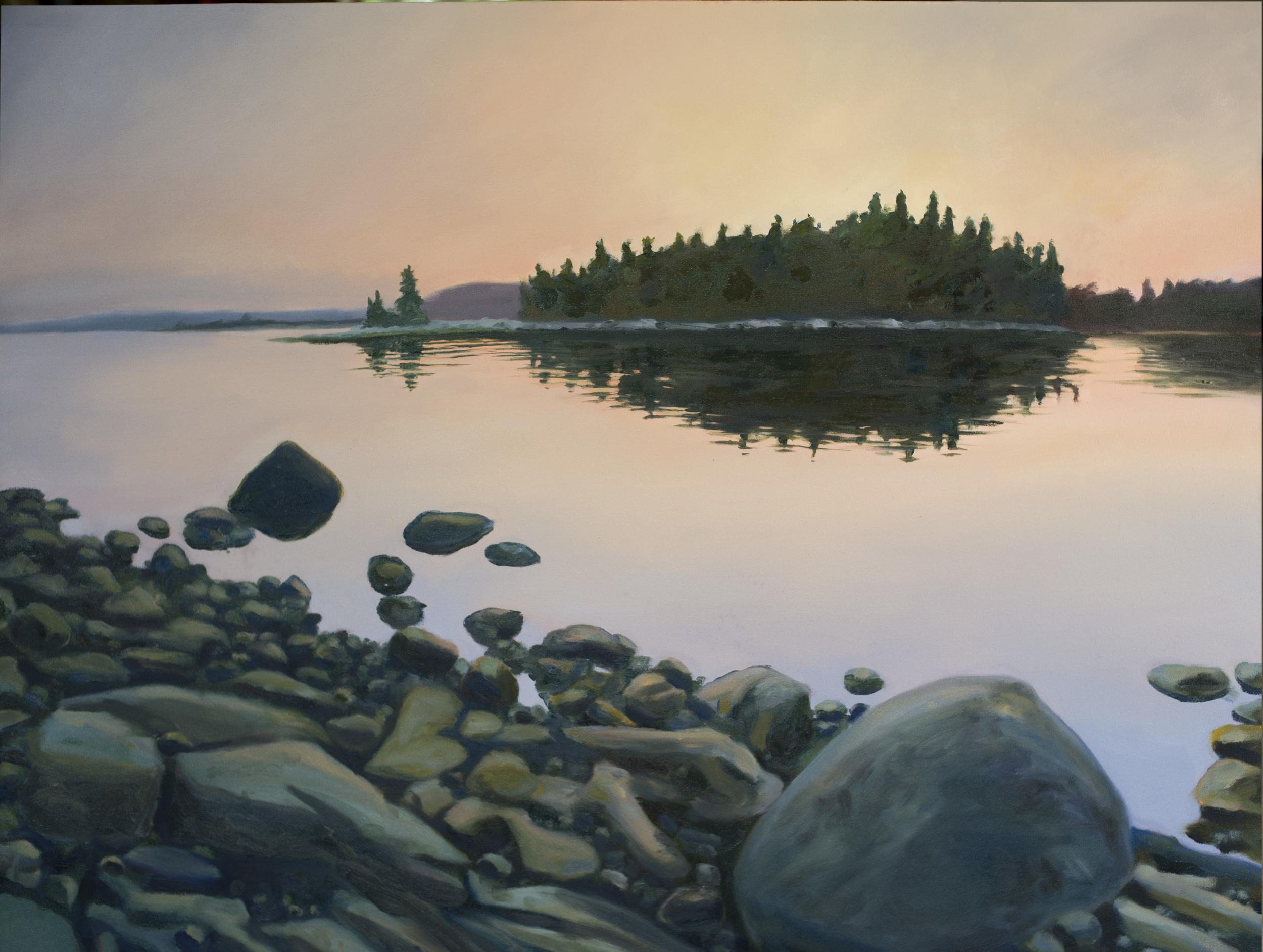Black Island Dawn