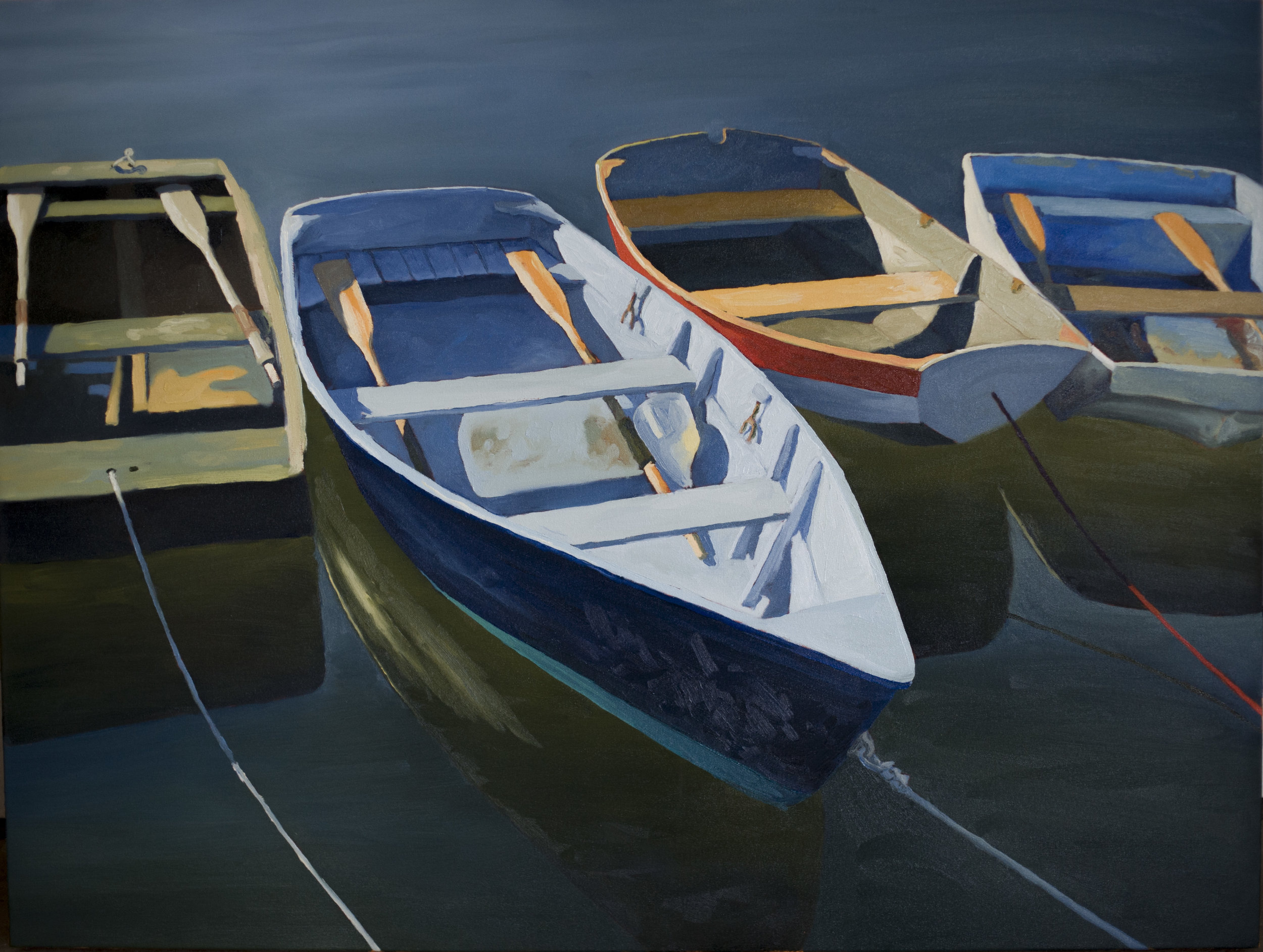 Hanging Dinghies