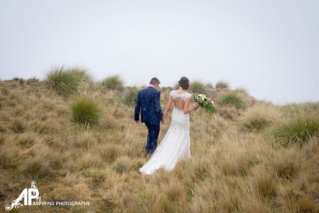 Rain on your wedding day | Kelsi's Wanaka Wedding | Wanaka Wedding Hair and Make-up | www.roadtobeauty.co.nz