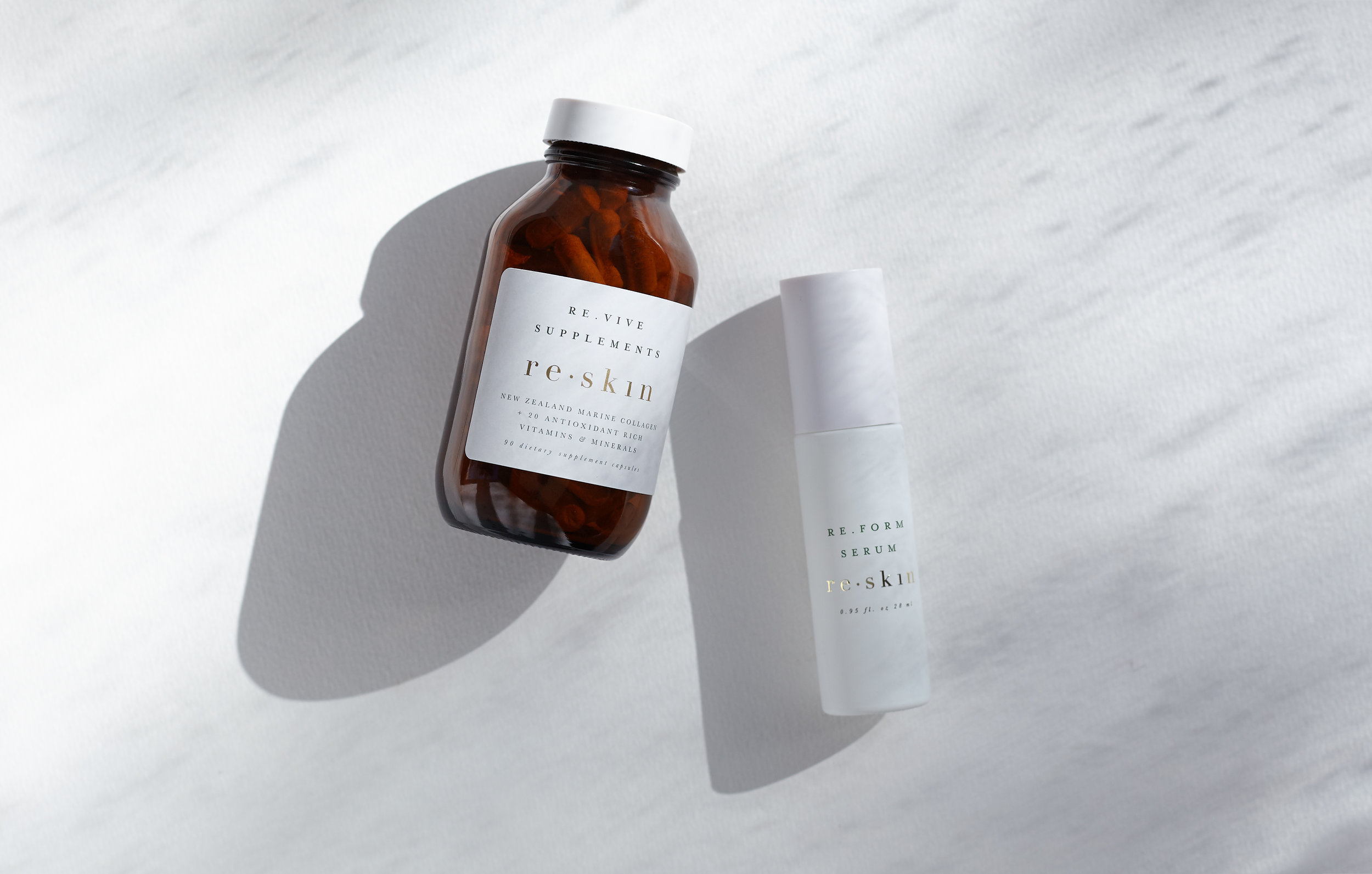 100% Recyclable packaging  Our hero ingredient: New Zealand Marine Collagen - sustainably sourced in NZ  No chemicals  No fillers  No nasties in our products  No testing on animals