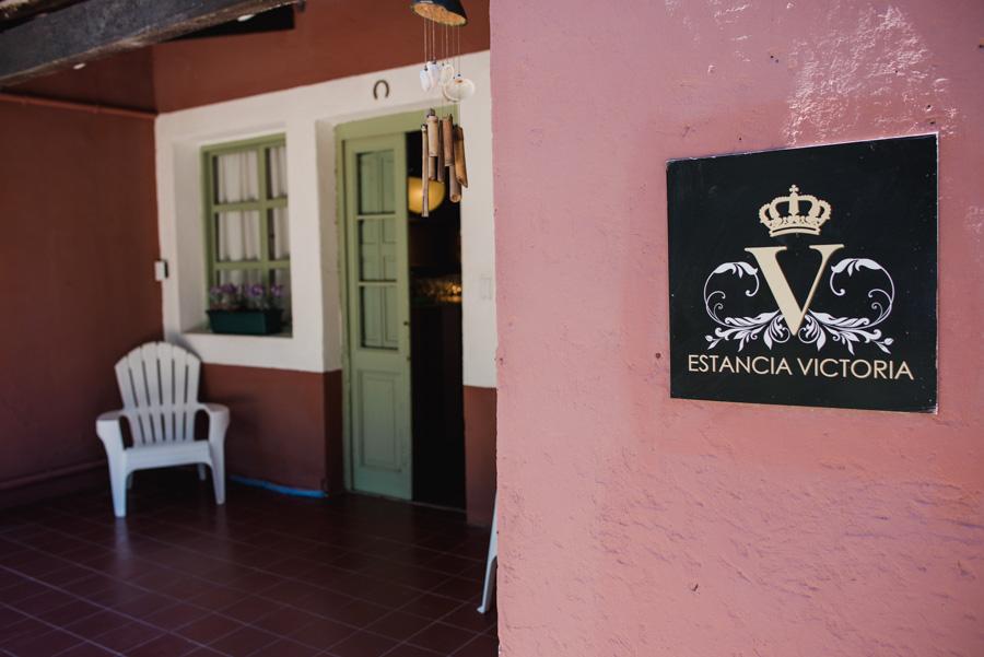 Estancia Victoria Villa Allende, ingreso al Hospedaje Matrimonial