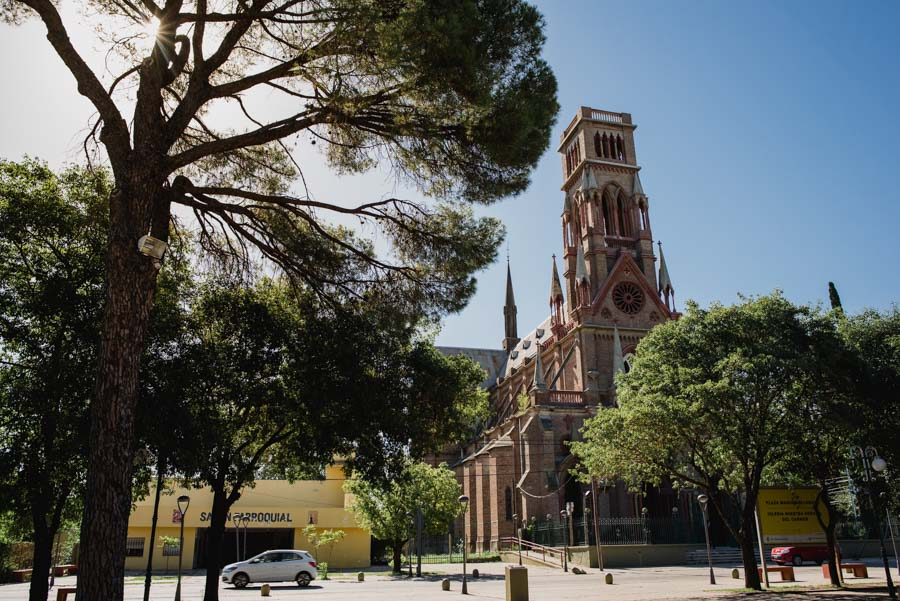 Imagen de la Iglesia Nuestra Señora del Carmen en Villa Allende