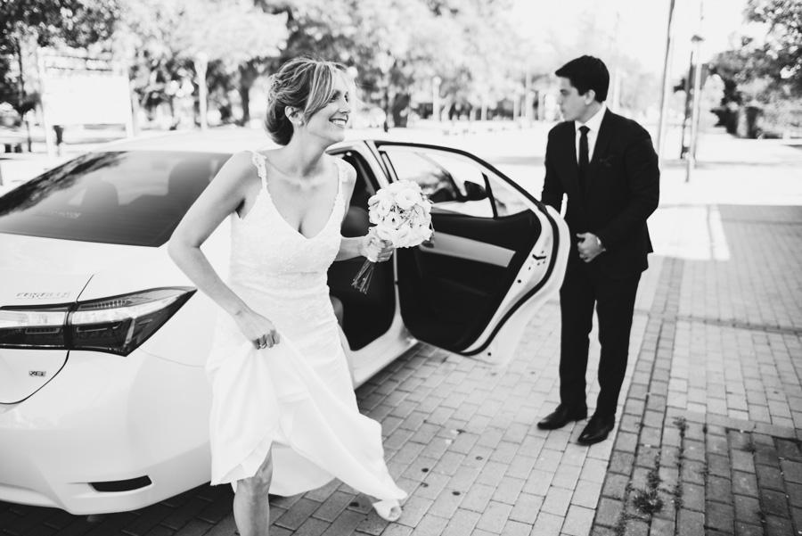 llega la novia a la Iglesia