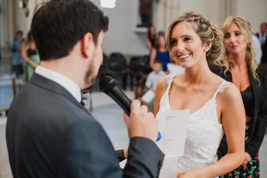 lectura de los votos matrimoniales