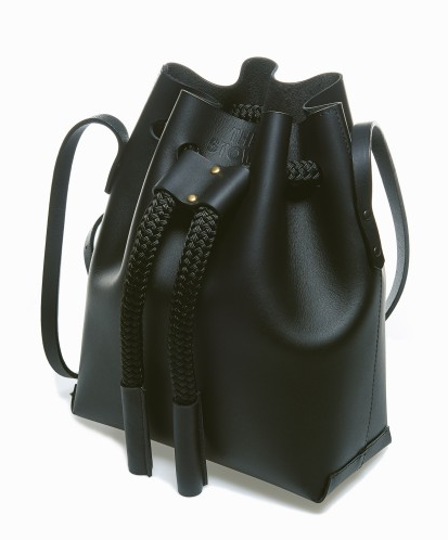 The Stowe | Leather Brady Bucket Bag