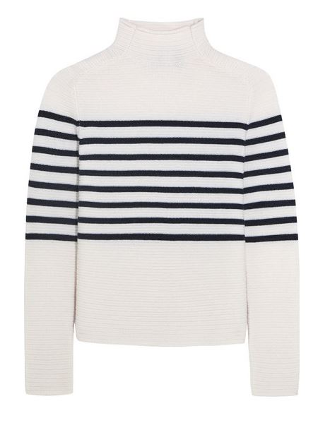 Topshop Unique | Broadwick striped wool and cashmere-blend sw