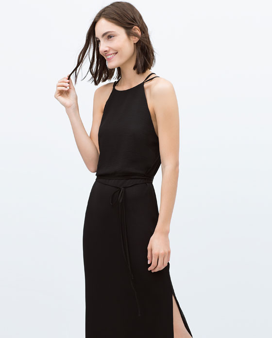 Zara | Long Dress with Cross Over Straps