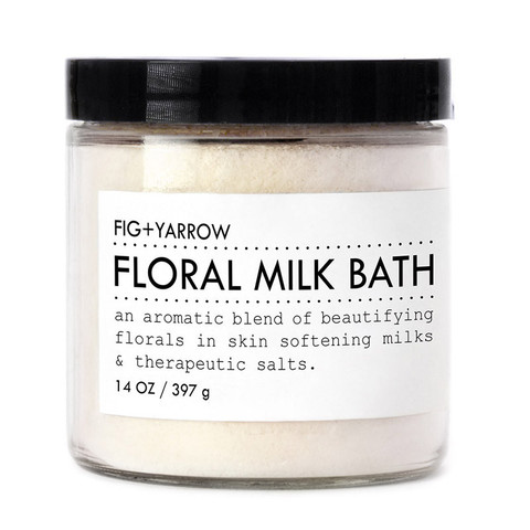 Fig + Yarrow Floral Milk Bath Soak