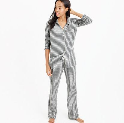 J.Crew Striped Pajamas