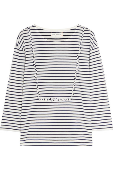 Chinti + Parker Striped Top