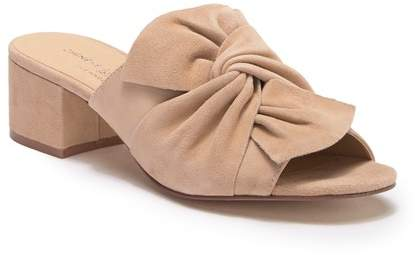 chinese laundry nude suede slides