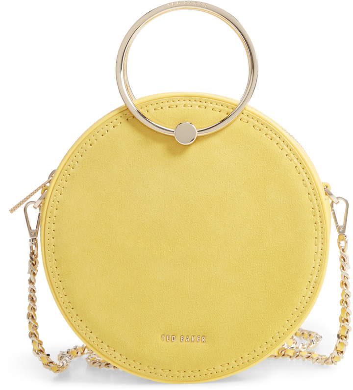 ted baker yellow bag