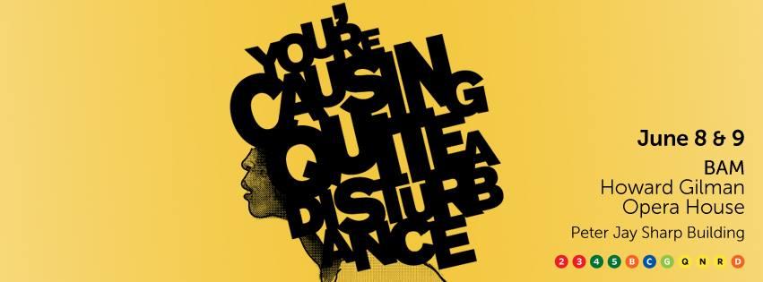 You're Causing Quite a Disturbance