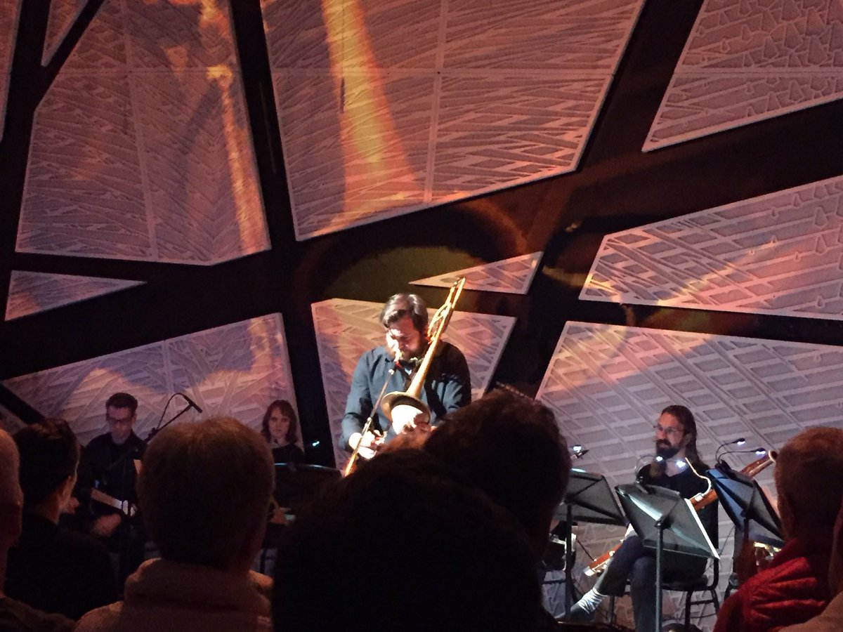 "Matt Barbier with WildUp, performing ""Ascension"" at National Sawdust in BK."