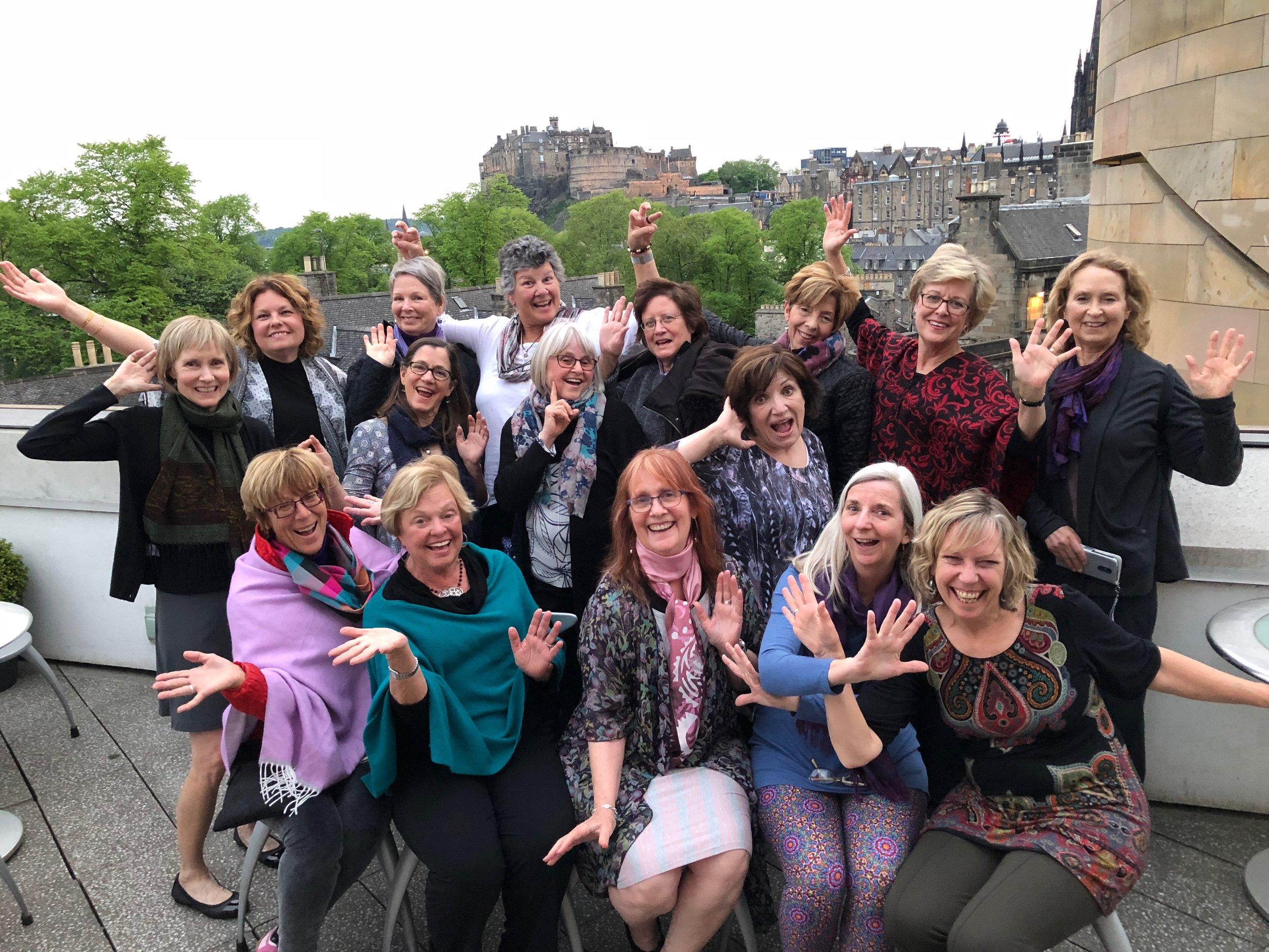 Scotland travelers, May 2018