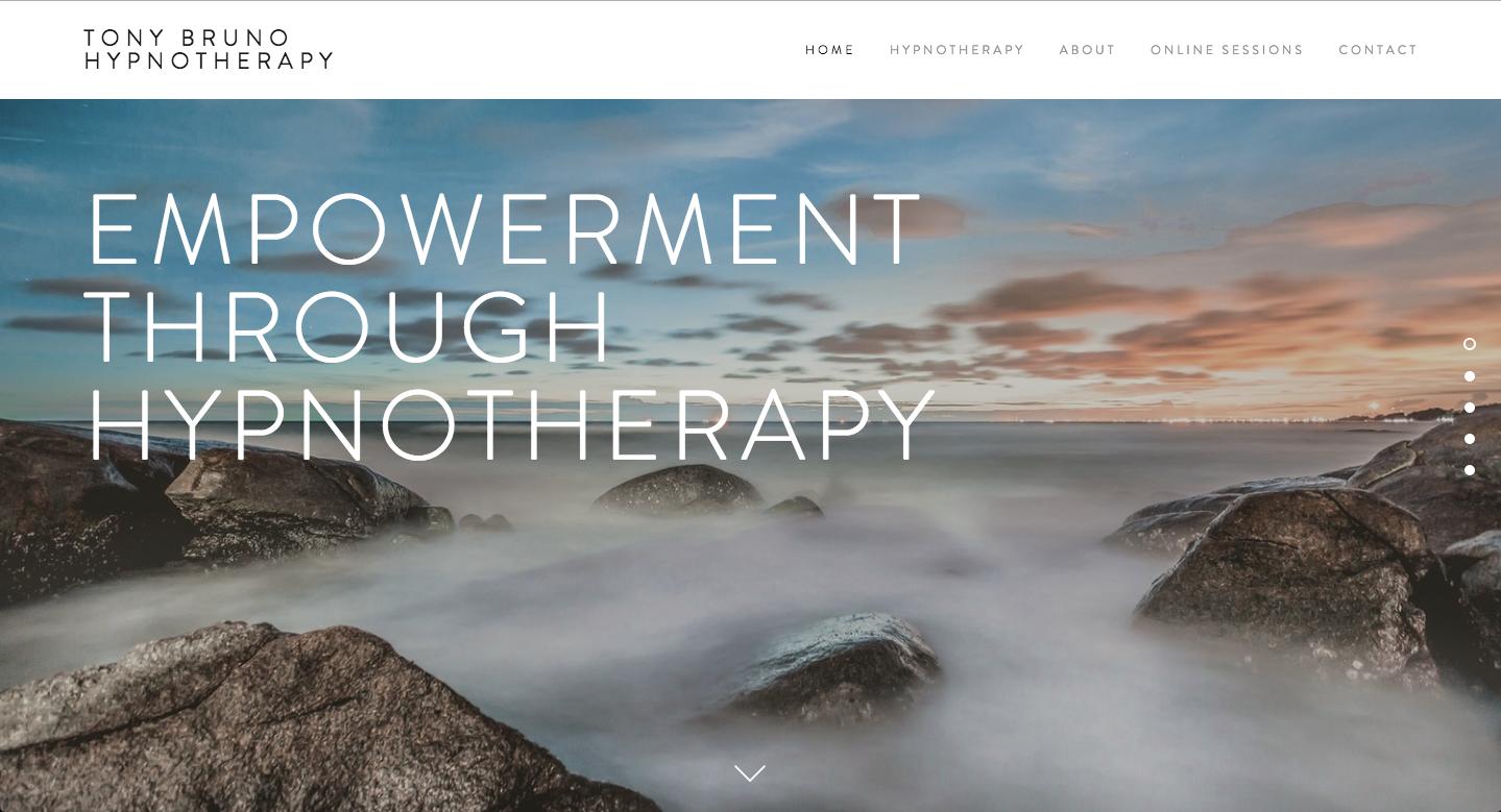 Site Design: Tony Bruno