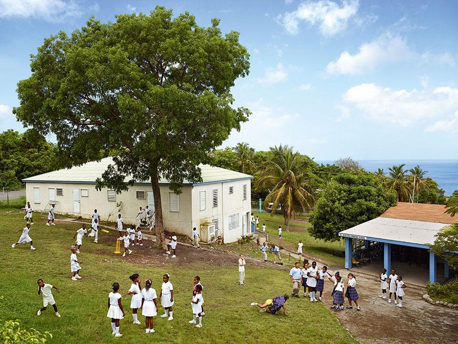 James Mollison\St. Agustine Roman Catholic School, Palm Loop, Montserrat