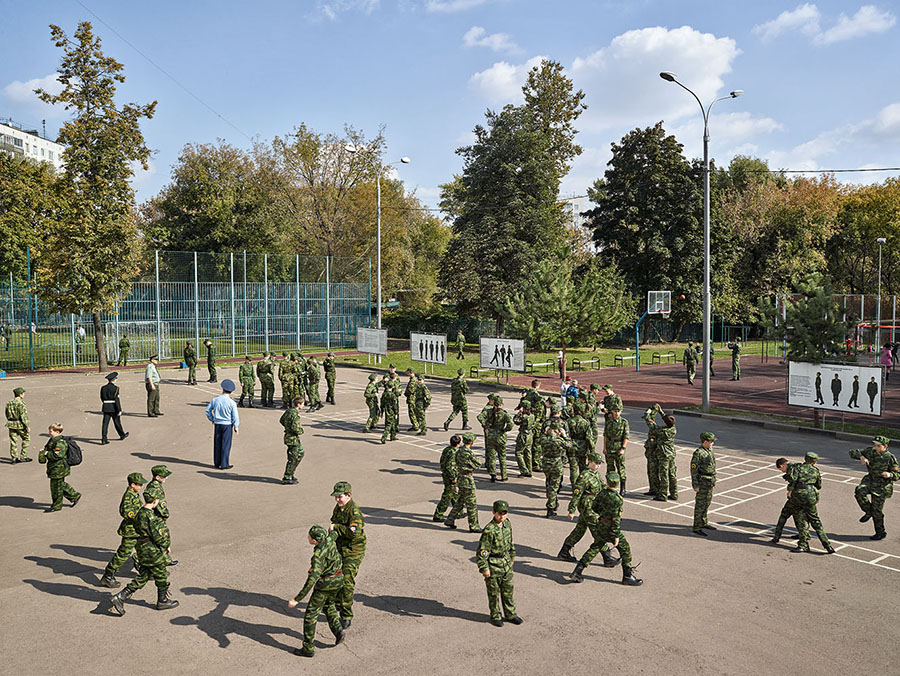 James Mollison\Cadet School of the Heroes of Space, Moscow