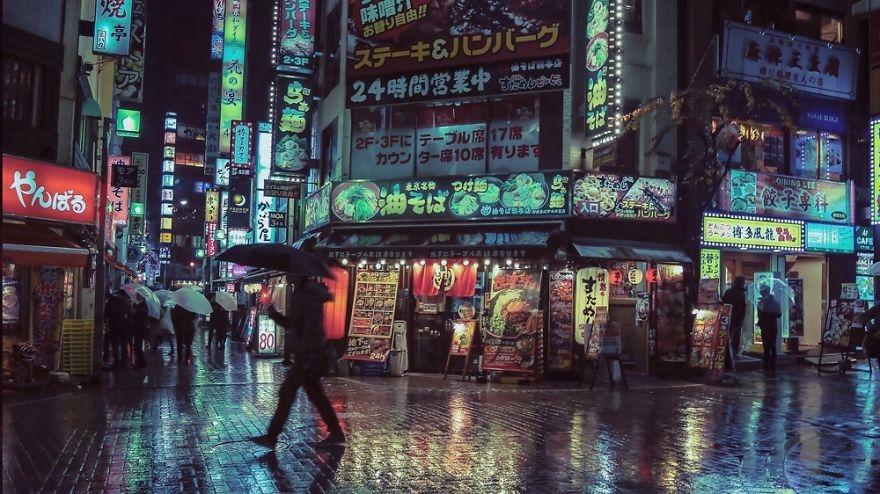 Liam Wong, Tokio, Kabukichō