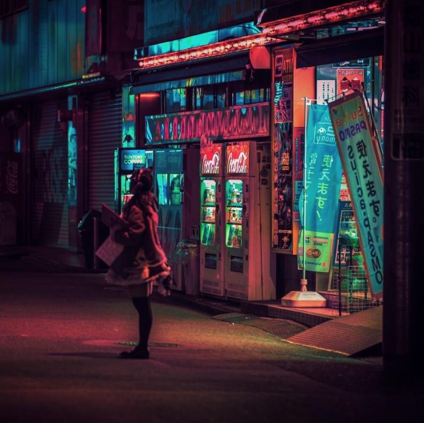 Liam Wong, Tokio,Akihabara