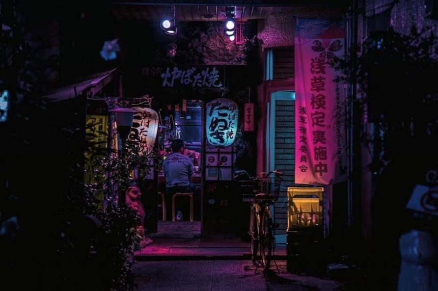 Liam Wong, Tokio,Asakusa