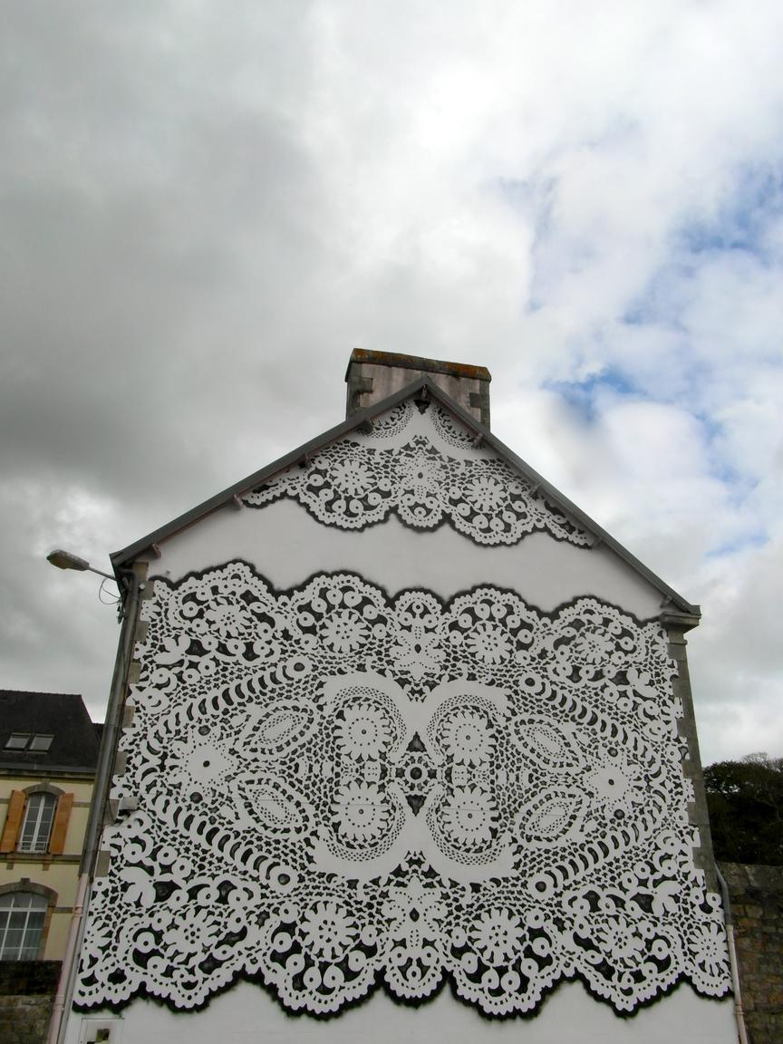 Nespoon PL, Pont L'Abbé, murale
