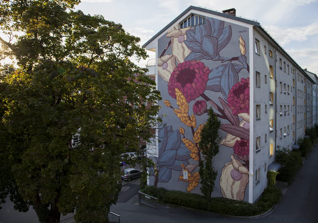 Nelu, murale di Pastel, ad Oslo