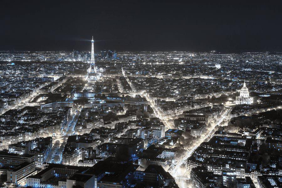Pierre Louis Ferrer, Paris Invisible, fotografia infrarossi