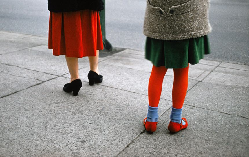 Red Stockings, 1961 – © Fred Herzog