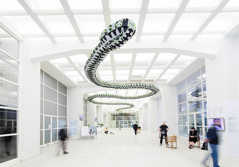 ai weiwei, snake ceiling