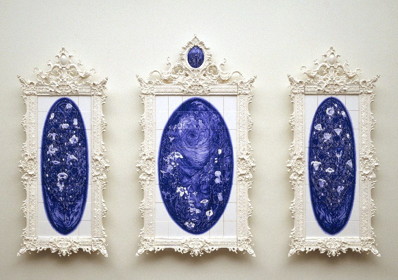 """Mirror, mirror"", 2006, porcellana"