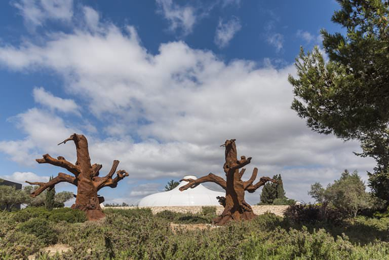 ai weiwei: maybe, maybe not; 'iron tree' all images © eli posner