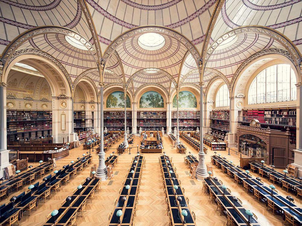 Biblioteca Nationale de France, Sala Lambrouste, Parigi, 1868
