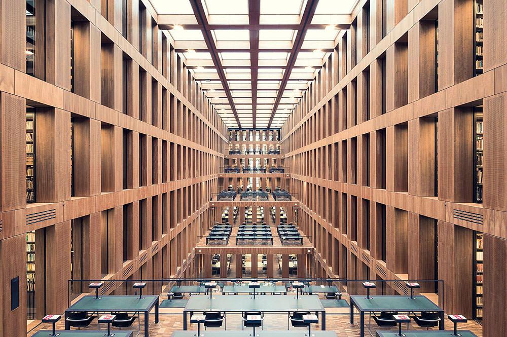 Grimm Zentrum Library, Berlino, 2009