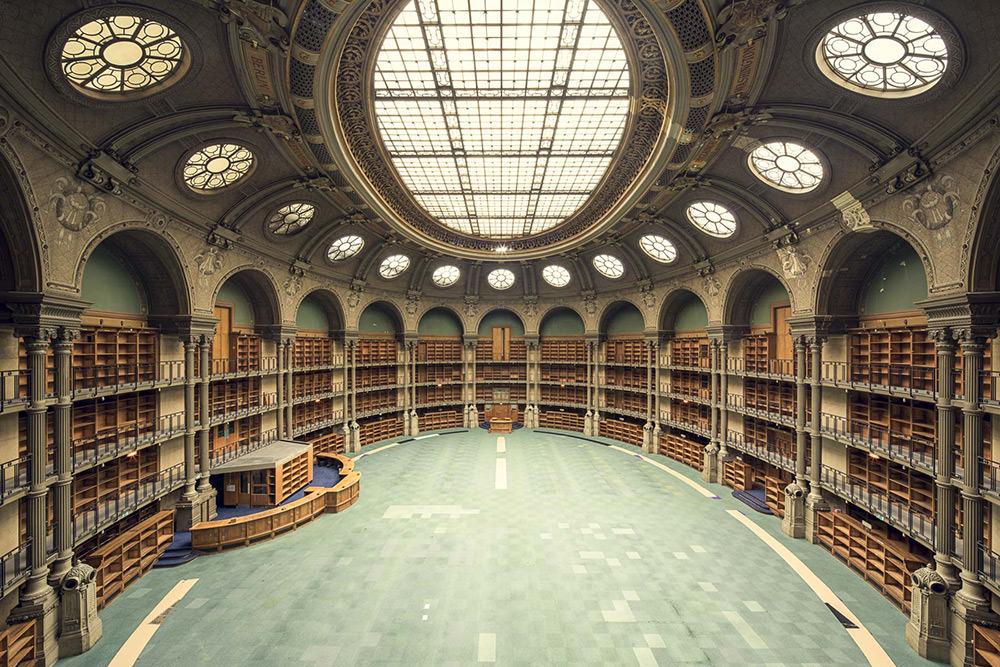 Bibliotheque Nationale de France, Salle Ovale, Parigi, 1868