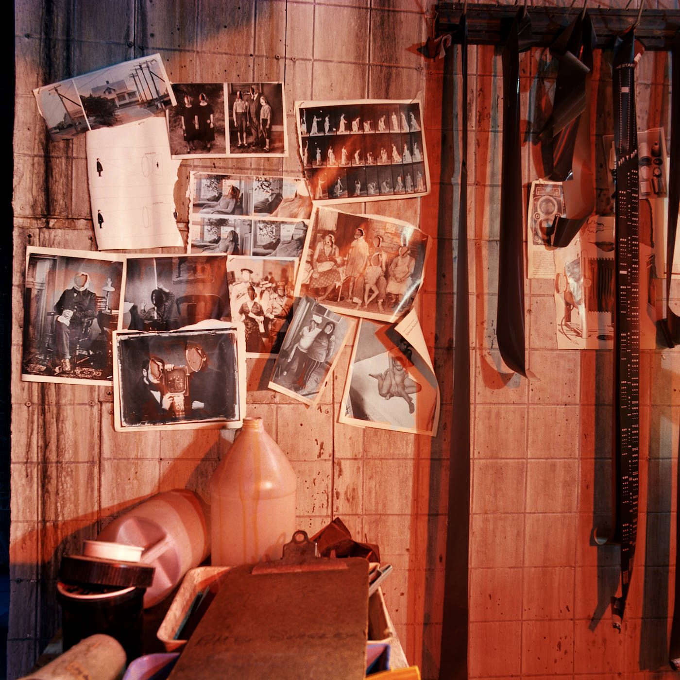 """Misty Keasler, """"Darkroom, Headless Horseman Haunted House, Ulster Park, NY"""" (2016), archival pigment print, 30 × 30 inches (courtesy the artist and the Public Trust)"""