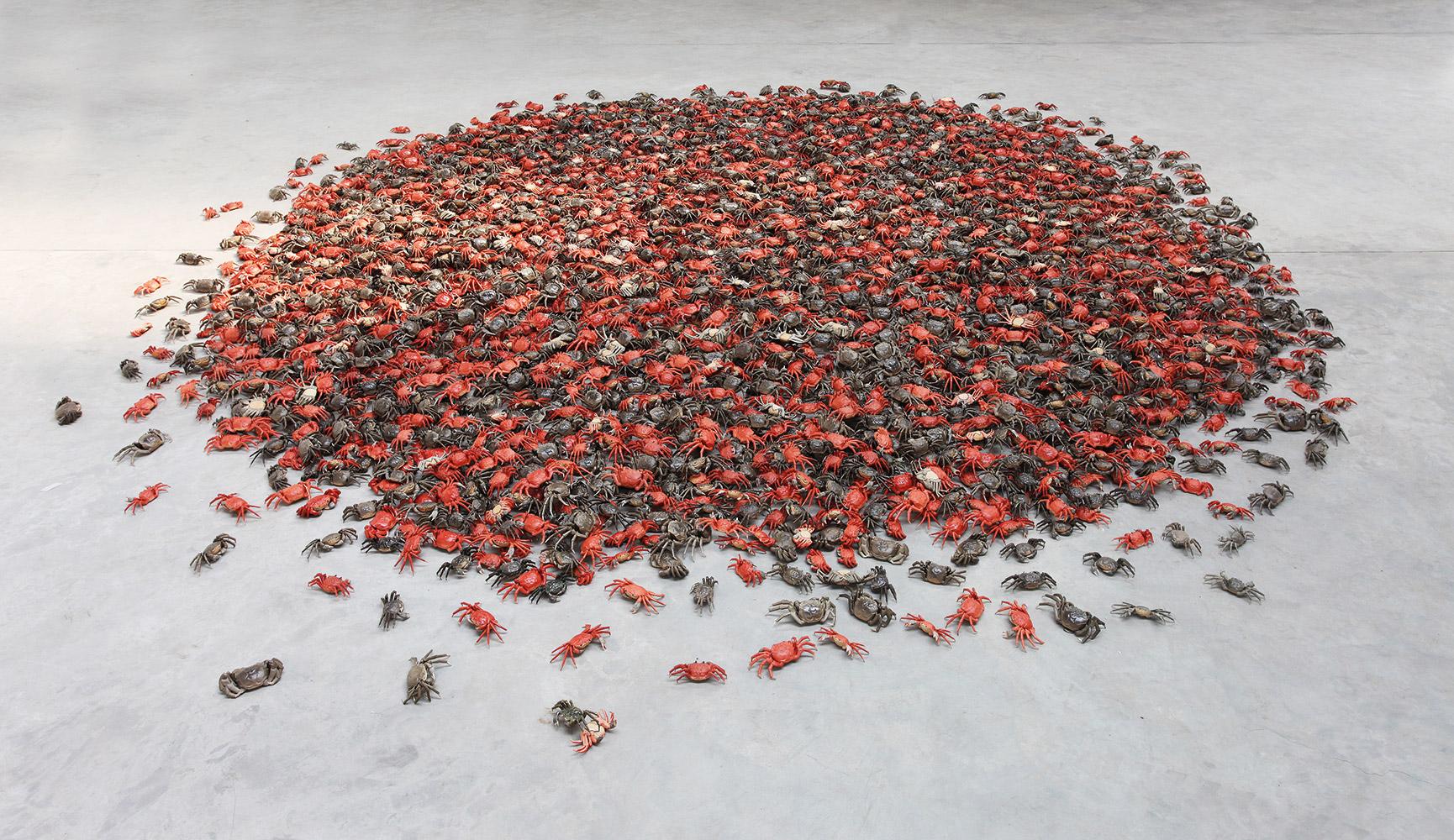 Ai Weiwei, He Xie, 2011, 28 x 8 x 2 cm. photo © Ai Weiwei Studio, Berlín, 2017