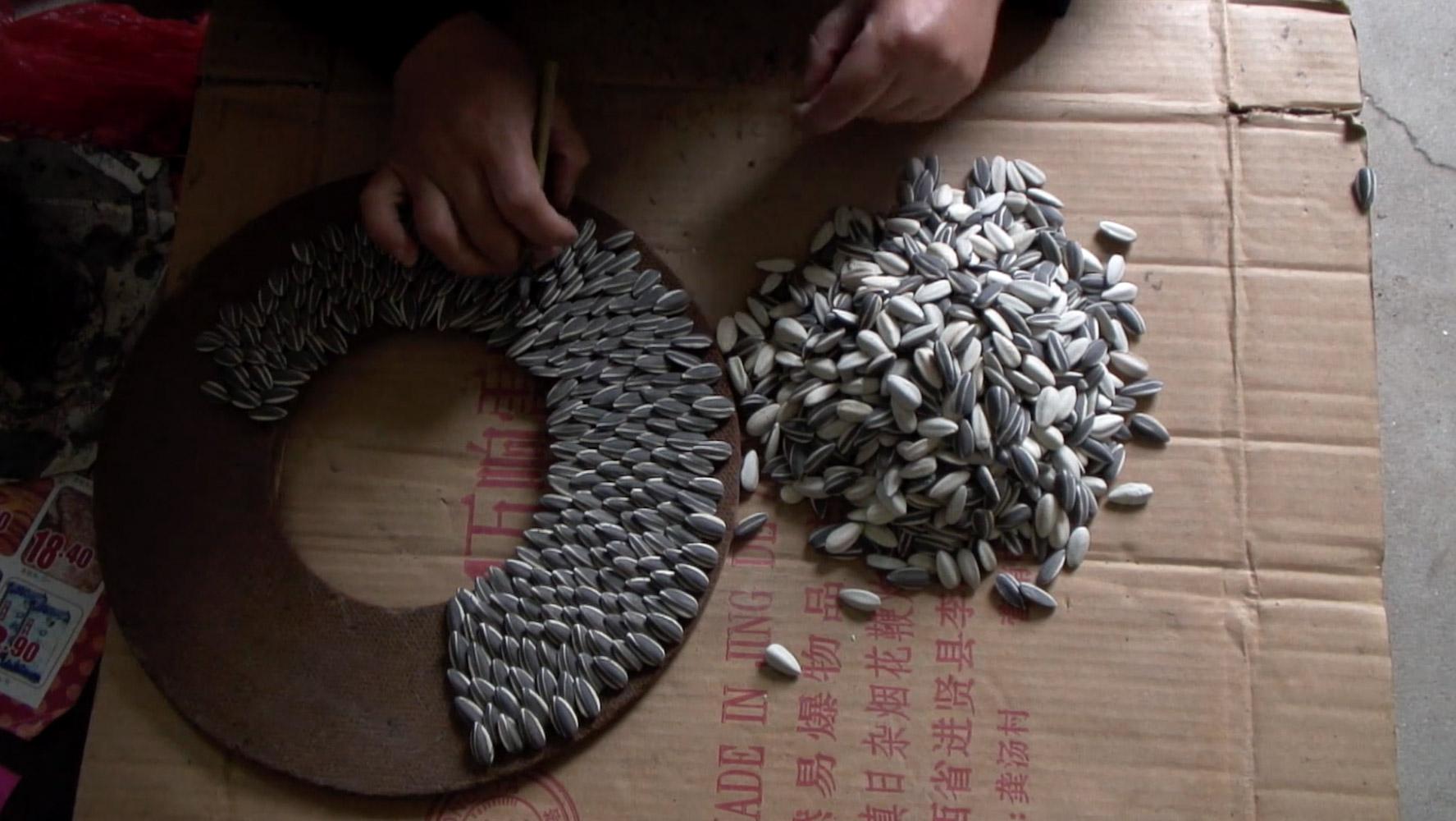 Ai Weiwei, Making of Sunflower Seeds, 2010 Color Impression. Copia per la mostra misure variabili