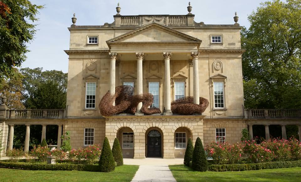 'Murmuration', The Holburne Museum, Bath, 2015, Flanders Red willow nicksmithphotography.com