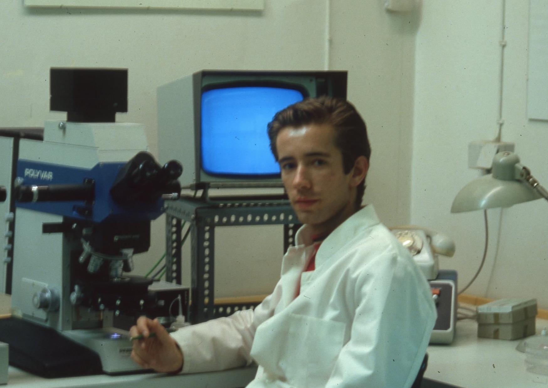 Carsten Höller., Institute of Phytopathology, University of Kiel, ca. 1988. © Carsten Höller Studio, photographer unknown.