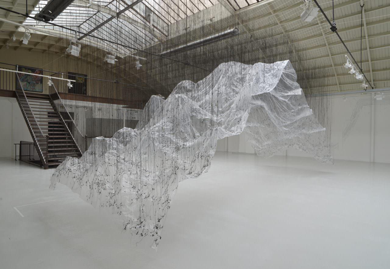 Onishi, Yasuaki, 'Reverse of Volume EC', 2015 / glue, plastic sheet, other, VIDE ET PLEIN /Maison Bleu Studio at Espace Commines, Paris France.photo: Takeshi Sugiura