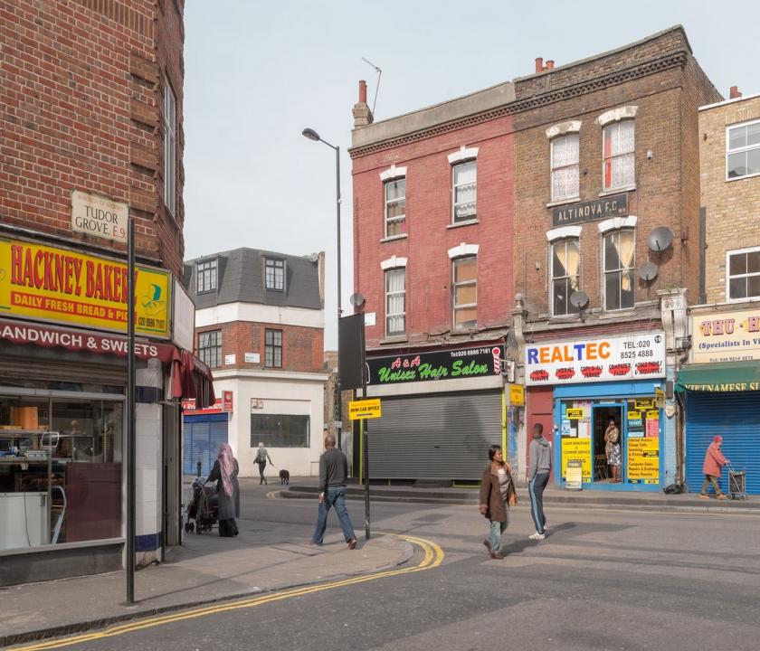 Tudor Grove, Well Street – 11:16am–11:46am, 17th March 2010