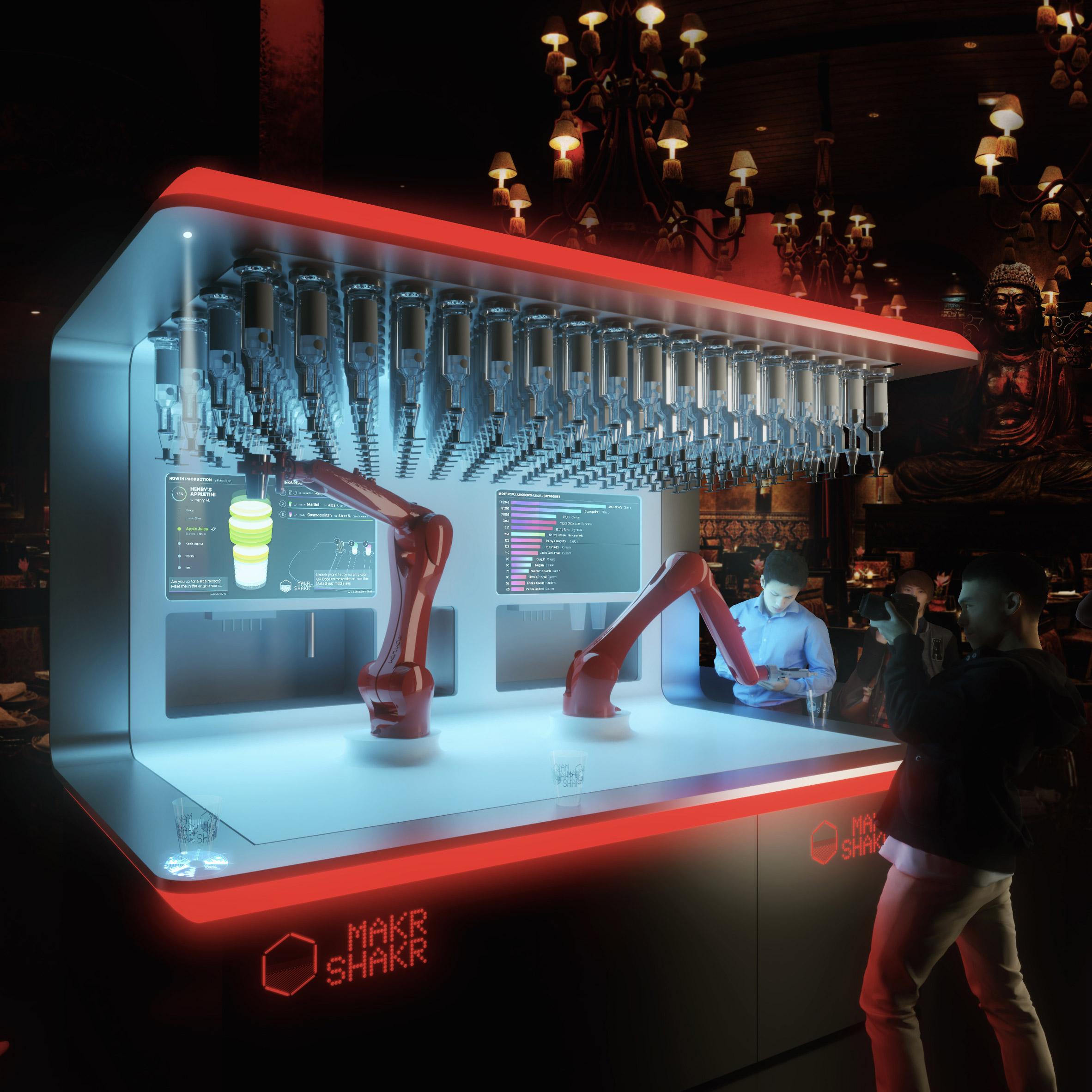 Nino Robotic, il bartender robot di Calo Ratti