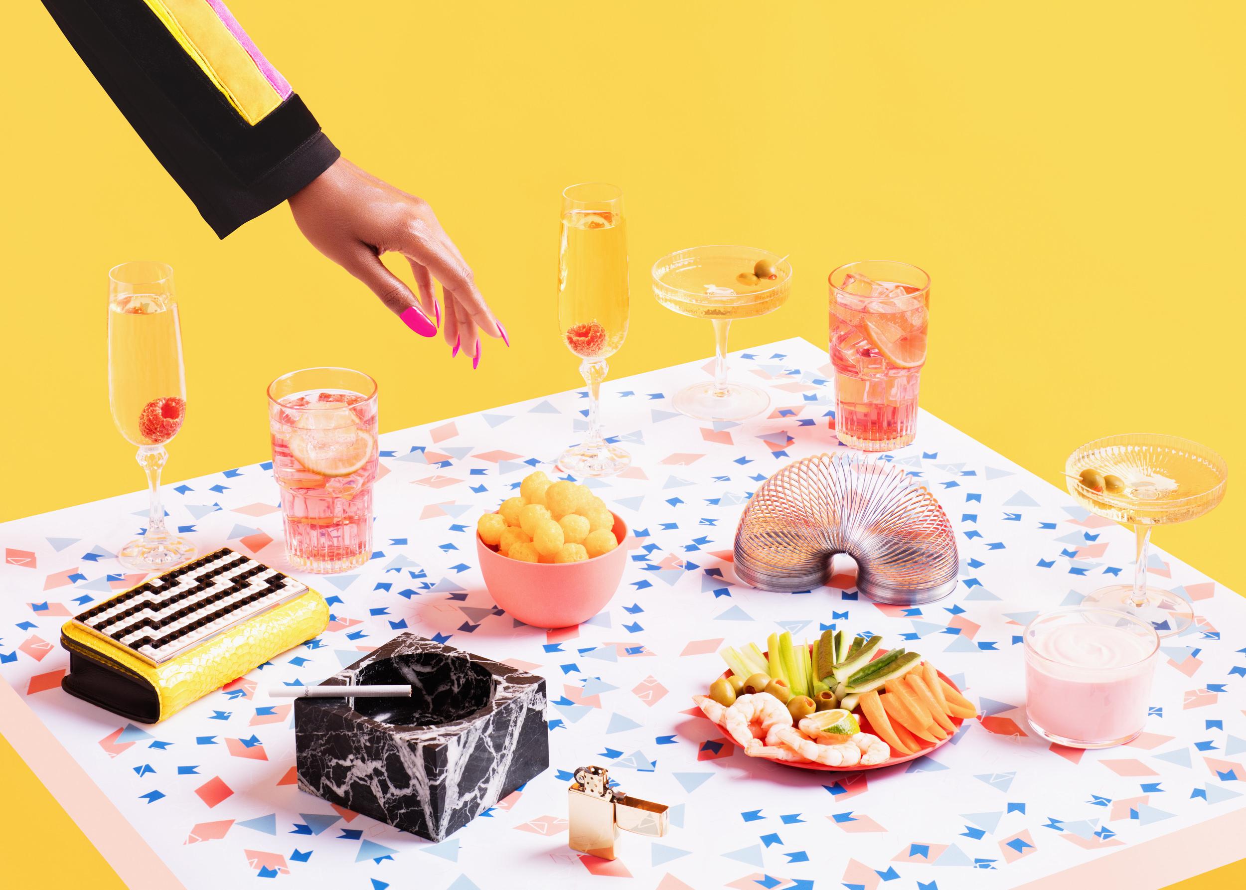 Ilka & Frank, Bottomless Brunch, shots for Klein Magazine by Ilka Noggker
