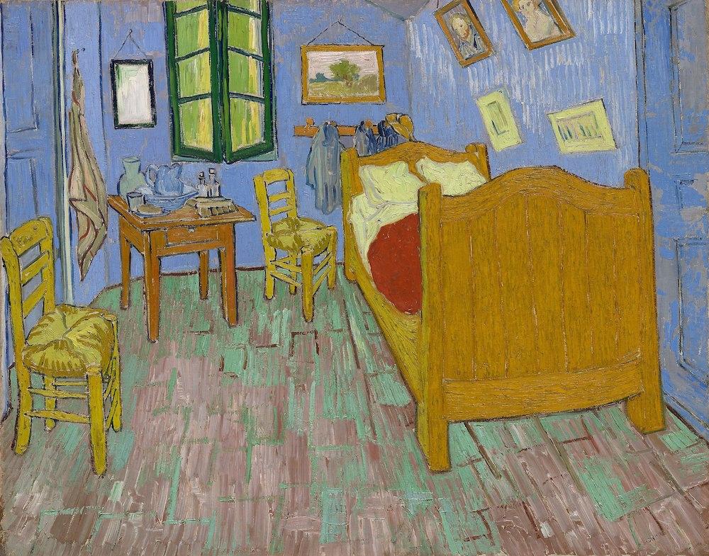 La camera di Vincent ad Arles, Vincent Van Gogh