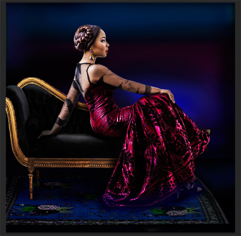 Iké Udé, Nollywood Portraits: A Radical Beauty, Linda Ihuoma Ejiofor, Actress