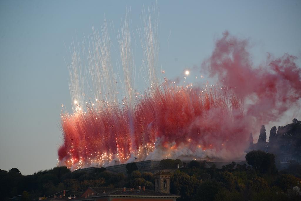 I fuochi di artificio di Cai Guo-Qiang a Firenze, photo Valentina Grandini