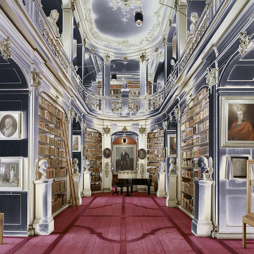 Biblioteca di Weimar, Germania 1997, © MassimoListri